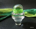 Flaschenverschluß in grün