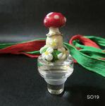 Flaschenverschluß mit Pilz